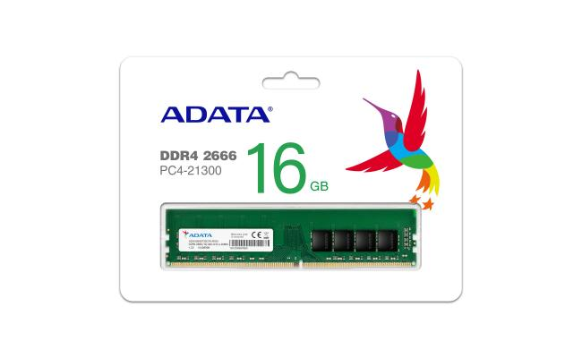 ADATA 16GB DDR4 2666 U-DIMM RAM For PC