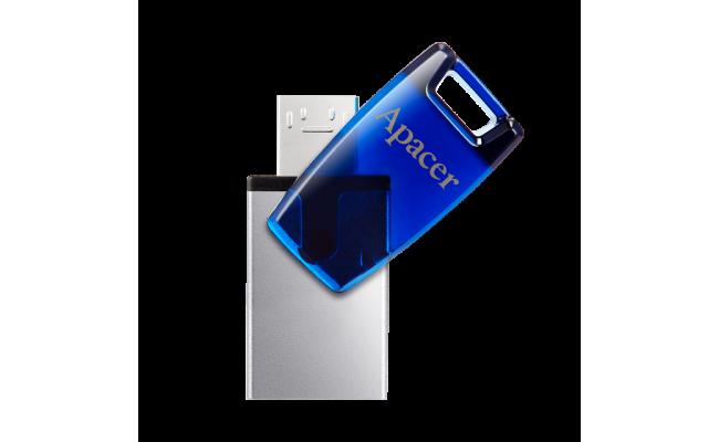 Apacer AH179 USB 3.1 & Micro-B Gen 1 Type-A / Flash Drive 64GB