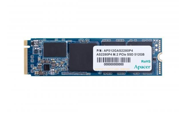 Apacer AS2280P4 SSD M.2 PCIe Gen3 x4 SSD , 512GB