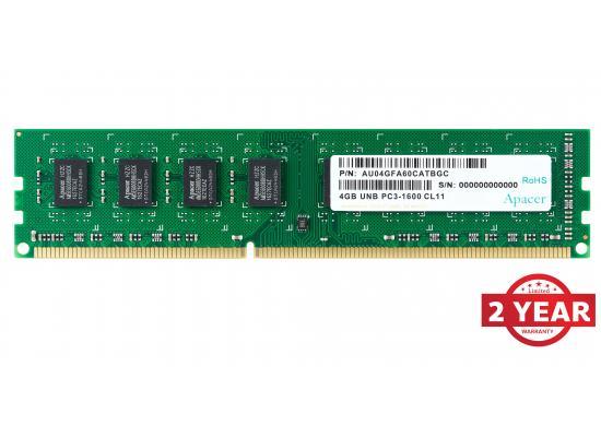 Apacer RAM U-DIMM PC DDR3 1600Mhz 4GB