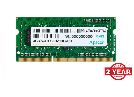 Apacer RAM SO-DIMM Notebook DDR3  1600Mhz 4GB