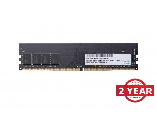 Apacer RAM U-DIMM PC DDR4 2666Mhz 4GB