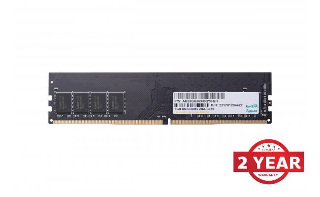 Apacer RAM U-DIMM PC DDR4 2666Mhz 8GB