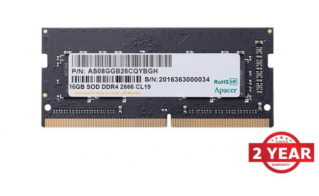 Apacer RAM SO-DIMM Notebook DDR4  2666Mhz 16GB