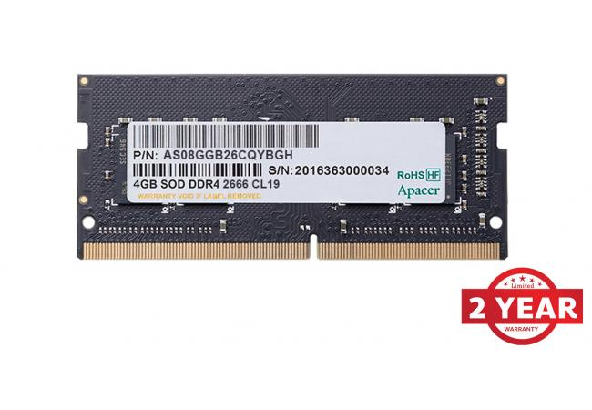 Apacer RAM SO-DIMM Notebook DDR4  2666Mhz 4GB
