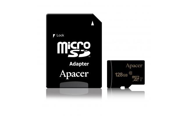 Apacer microSDXC/SDHC UHS-I U1 Class 10 128GB