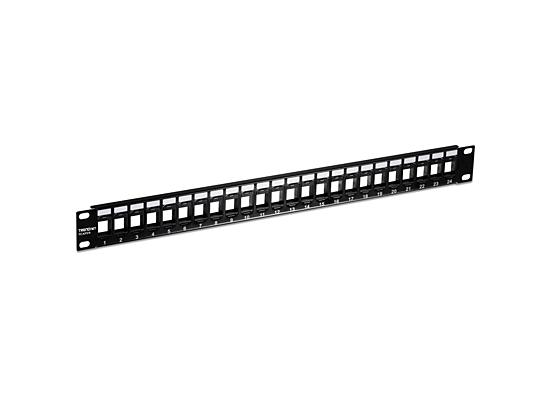 TRENDnet 24-port Blank Keystone 1U Patch Panel
