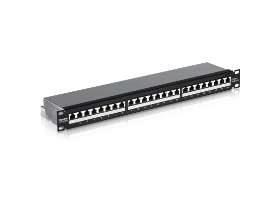 TRENDnet 24-port Cat6a Shielded Patch Panel