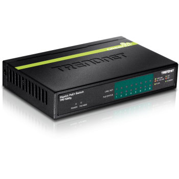 TRENDnet Gigabit PoE+ 8Port Switch