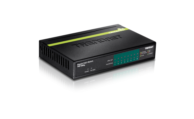 TRENDnet Gigabit PoE+ 8Port Switch