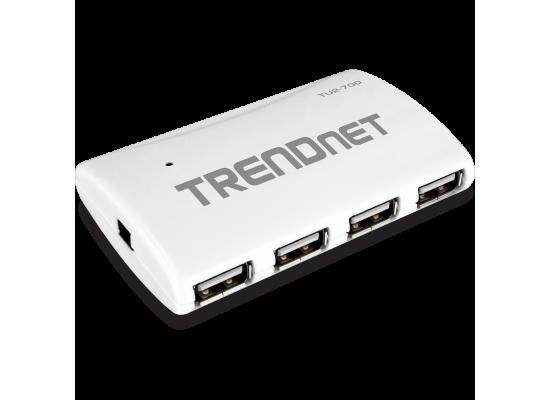 TRENDnet High Speed USB 2.0 7-port Hub with Power adapter