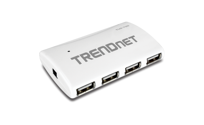 TRENDnet High Speed USB 2.0 7-port Hub with Power adapter