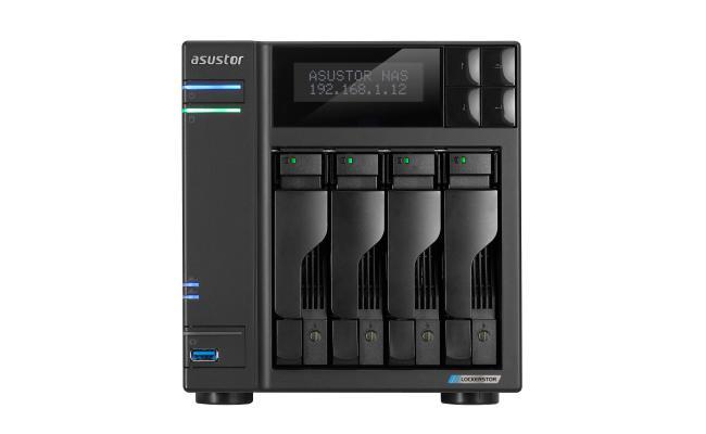 asustor LOCKERSTOR 4 Network Attached Storage - NAS 4-bay