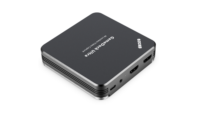 ezcap GameDock Ultra 4Kp60 HDR Capture Card - Stream and Record