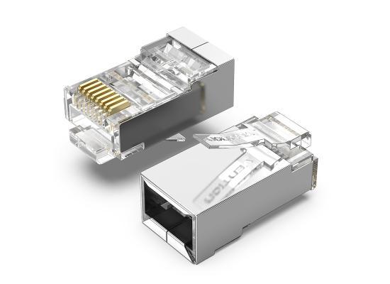 Vention Cat6 FTP RJ45 Plug 100 Pack
