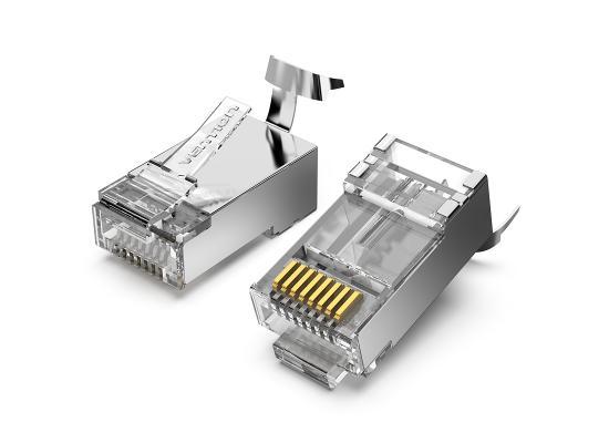 Vention Cat7 FTP RJ45 Plug 10 Pack