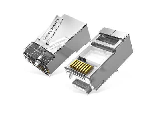 Vention Cat6A FTP RJ45 Plug 100 Pack