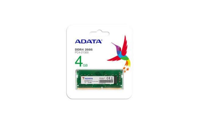 ADATA DDRA4 4GB for Laptop RAM