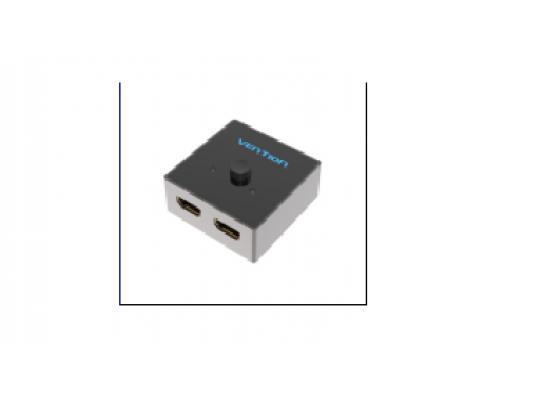 2-Port HDMI Bi-Direction Switcher  Grey Metal Type