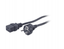 APC AP9875 Power Cord 16A 230C C19 to Schuko