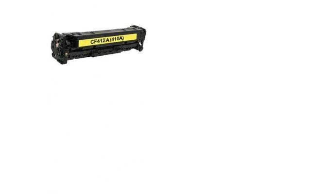HP Compatible Yellow Toner CF412A