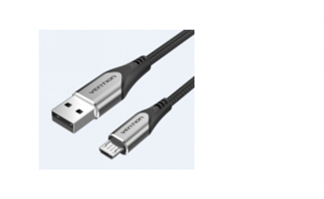Vention USB 2.0-A to Micro-B Charger Cable 1M