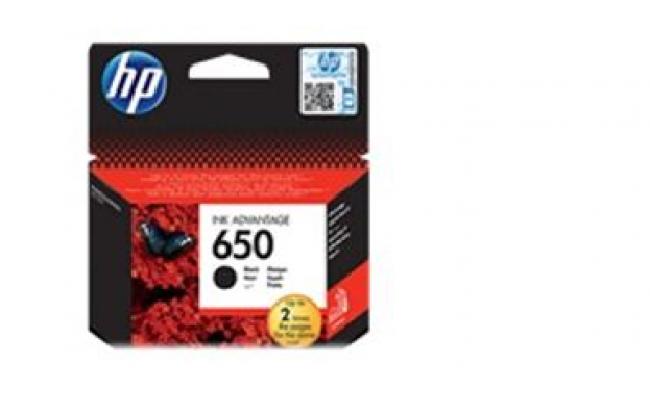 HP 650 BLACK INK CZ101AE