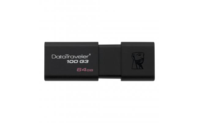 Kingston 64GB Data Traveler 100 Gen 3 USB 3.0 Drive