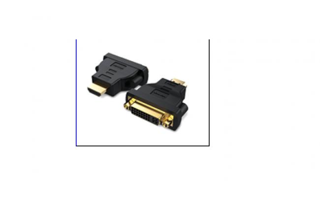 HDMI DVI Bi-Directional  Adapter  Black