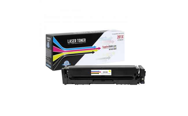 HP Compatible Toner CF402 Yellow