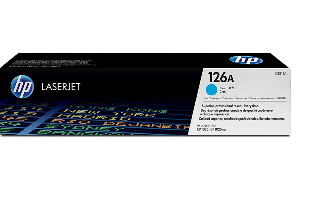 HP Compatible CYAN Toner For 311A  HR-CE311AC