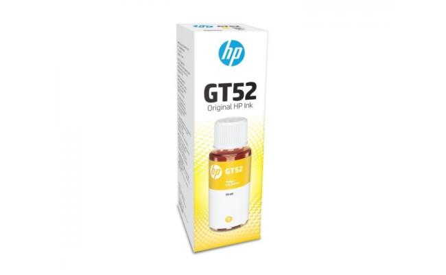 HP INK ORGINAL GT52 YELLOW