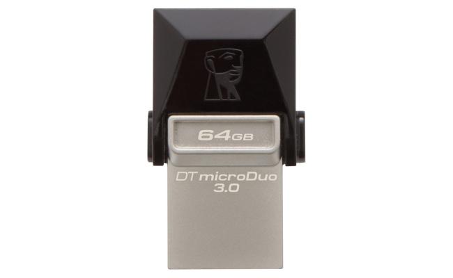Kingston 64GB USB MICRODUO Flash DTDUO3/64GB