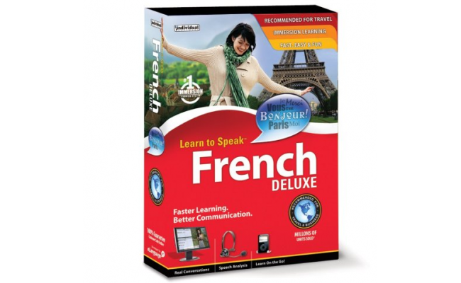 LEARN TO SPEAK FRENCH DELUXE 5 CD PROG