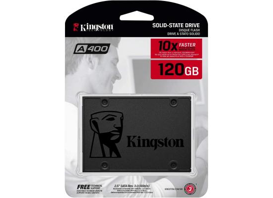 Kingston A400 SATA 3 SSD Solid State HARD DRIVE LAPTOP / (SSD) 120G