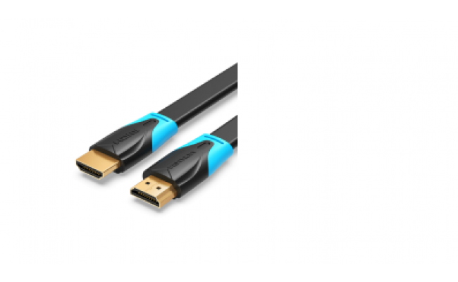 Flat HDMI Cable 5M Black