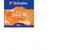 VERBATIM DVD+R 8CM DL 2.6GB 1/5PK 43583