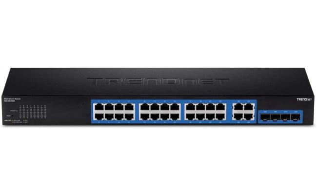 Trendnet Gigabit 24 Port Switch Green Rackmount