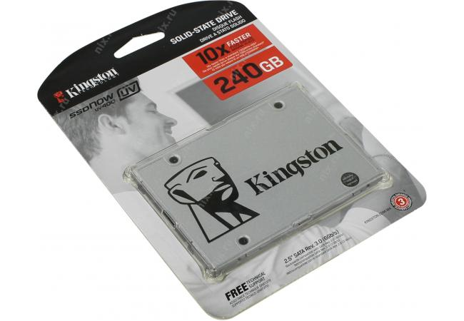 Kingston 240GB SSDNow UV400 SSD