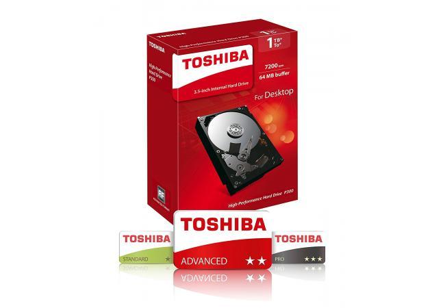 TOSHIBA 1TB P300
