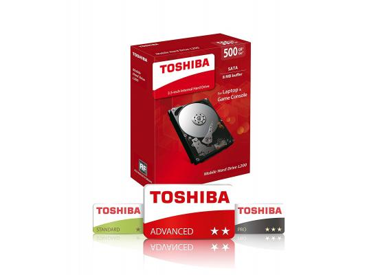 "TOSHIBA 500GB 2.5"" L200"