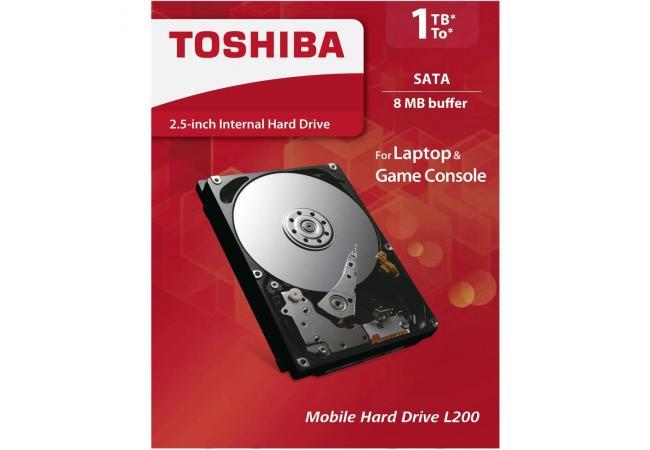 """TOSHIBA 1TB 2.5"""" L200"""