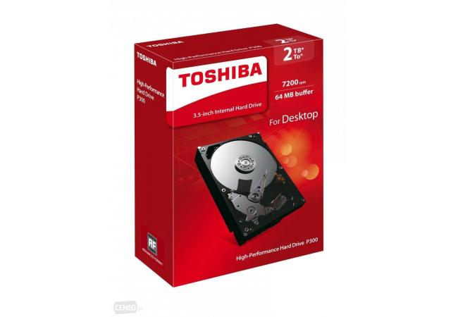 TOSHIBA 2TB P300