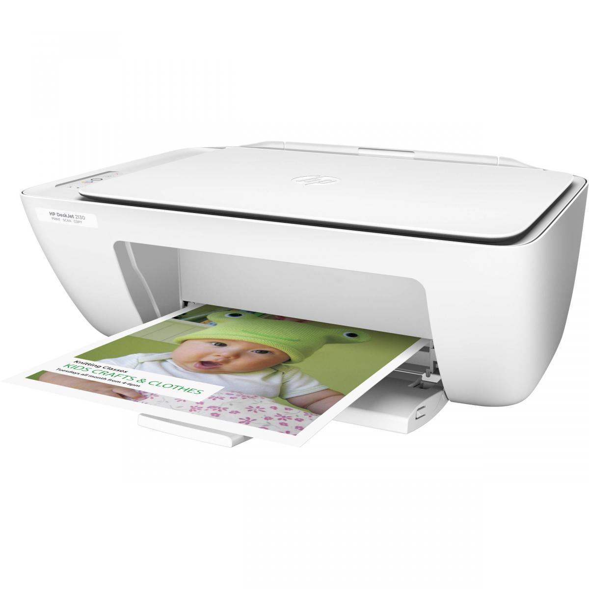 HP DeskJet 2130 All-in-One Printer   F5S40A#B1H   Smart ...