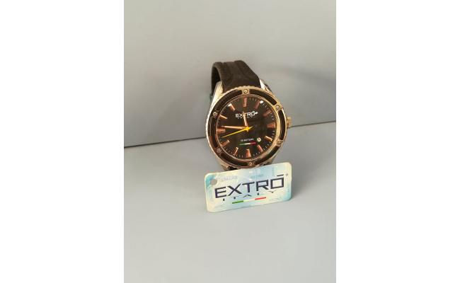 EXTRO Wrist Watch ANAG BLACK SILICON