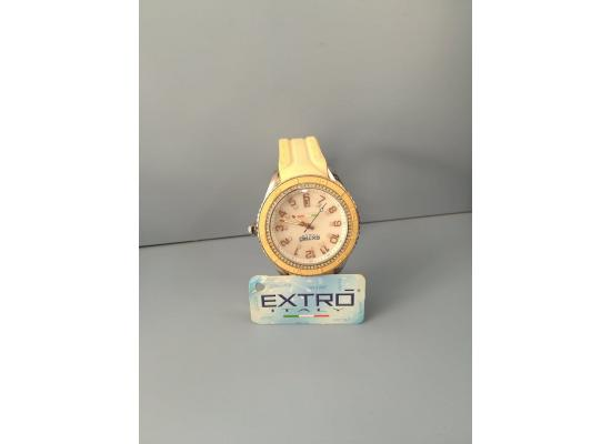 EXTRO Wrist Watch ANAG WHITE SILICON