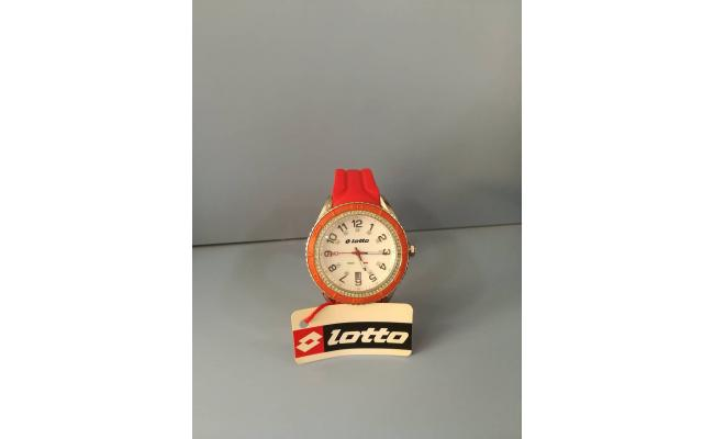 Lotto Wrist Watch ANAG RED SILIC