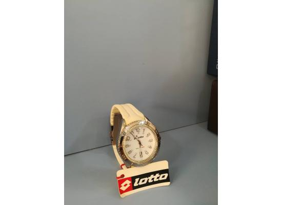 Lotto Wrist Watch ANAG WHT SILICON
