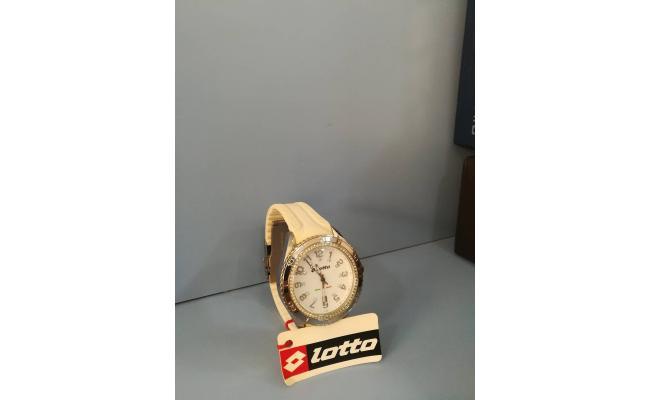 Lotto Wrist Watch ANAG WHT SILICON