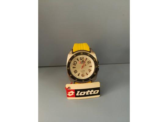 Lotto Wrist Watch ANAG YELLOW SOLID
